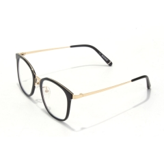 CGID 2019 New Style Fashion Blue Light Barent Lens  Glasses  with Premium TR90 Metal Frame, Transparent lens