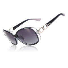 CGID New Arrival Oversized Sunglasses for Women With Gradient Frame