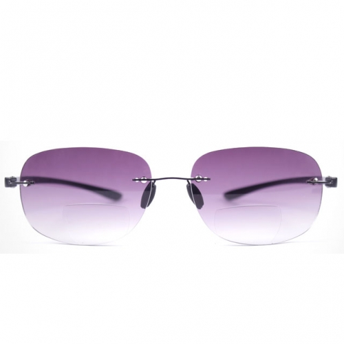 CGID New Arrival Rimless Reading Glasses With The Function Of Sunglasses