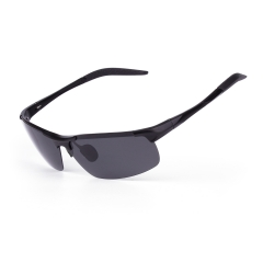 CGID New Arrival Polarized Sports Sunglasses With Curved Frame for Cycling Fishing Golf Baseball Running Men Women UV400 Protection