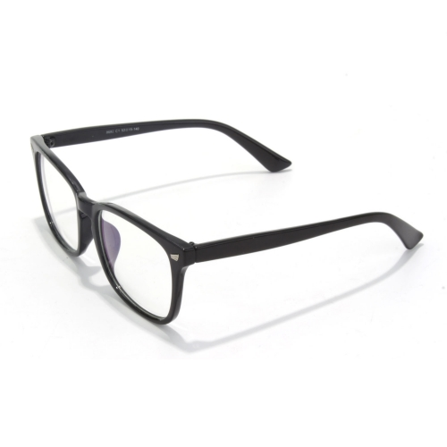 CGID Modern Square  Horn Rimmed  Oversized Clear Glasses