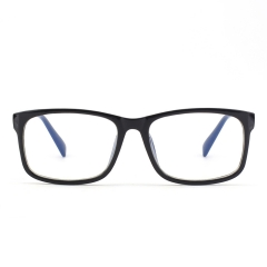 CGID  Blue Light Blocking Glasses, Anti Glare Fatigue Blocking Headaches Eye Strain, Safety Glasses for Computer/Phone Transparent Lens