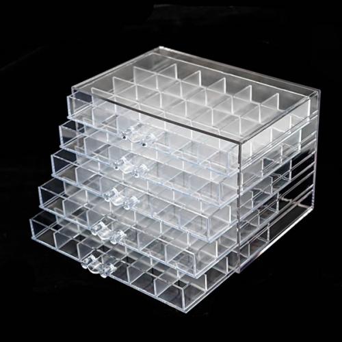 Container Rhinestone Jewelry Nail Art Storage Box Plastic Organizer 12 Grid