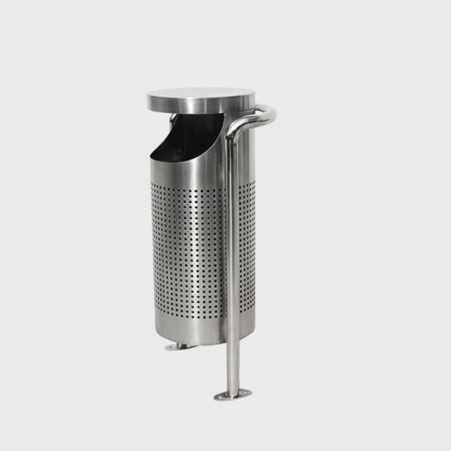 BS36 Outdoor stainless steel Trash Bin