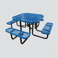 TB19 Square picnic table and benches
