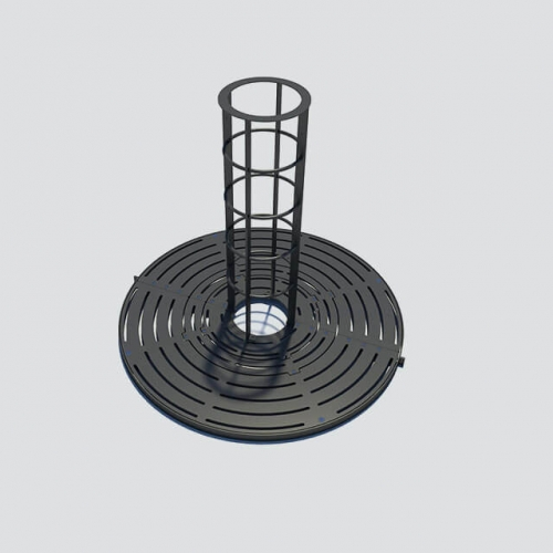 TG18 high quality ductile iron /cast iron tree grating