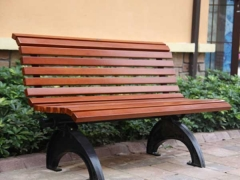 FW14 wood leisure garden bench