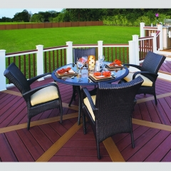 RTC-24 customized outdoor rattan furniture table and chair
