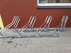 BR25 Iron/Stainless steel bike rack