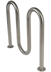 BR17 stainless steel bike rack for sale