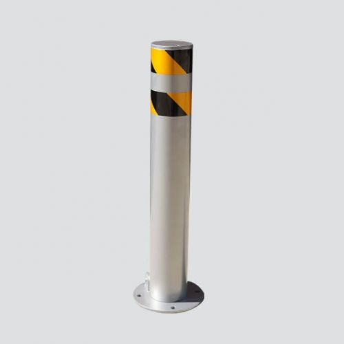 RB16- parking steel bollard with gavanized finish