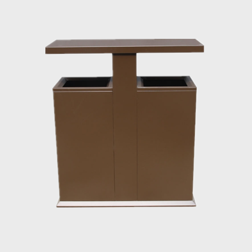 Classic Outdoor Steel Waste Container