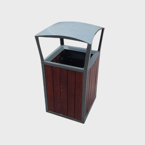 BW22 Outdoor Wooden Recycling Bin