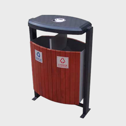 BW25 Outdoor Wooden Trash Bin