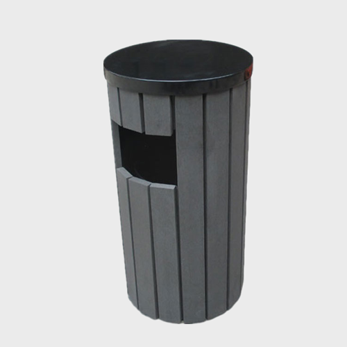 Round Wooden Garbage container for sale