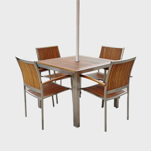 TB34 Wooden outdoor table and chairs