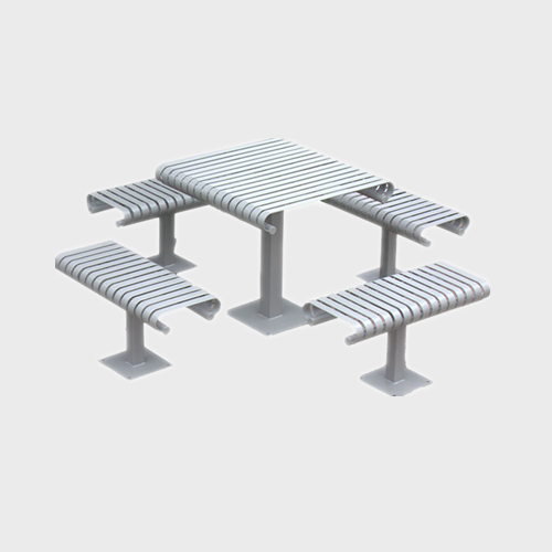 TB83 Unfoldable steel table sets