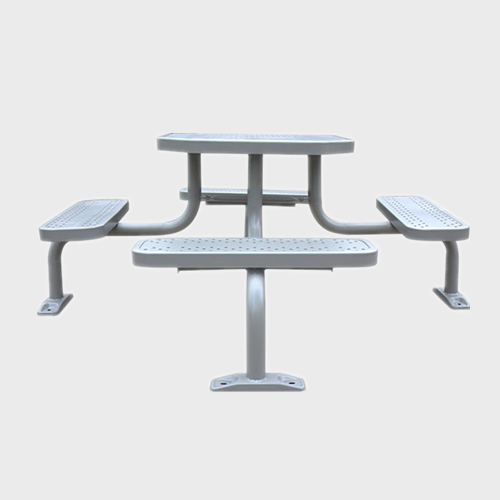 TB42 Outdoor stainless steel picnic table
