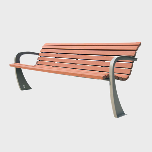 FW10 Plastic wood garden sitting bench