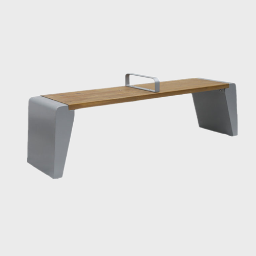 FW31 Wooden waiting room bench seating