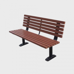 FW35 Wood commercial bench seat outdoor