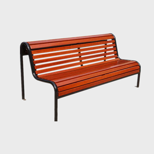 FW38 Cast iron garden park leisure wood bench