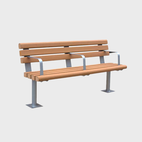 FW34 Plastic wood garden sitting bench