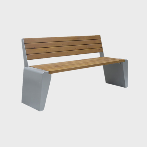 FW32 Wood plastic composite park bench