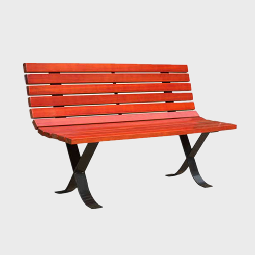 FW40 Outdoor long wood bench