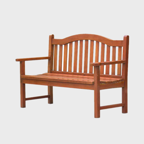 Cute Garden wooden slats bench
