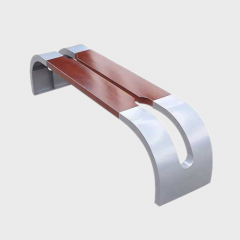 FW49 New Design wood seating bench without backrest