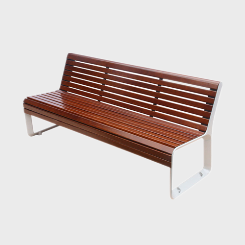 wpc wooden garden bench chair