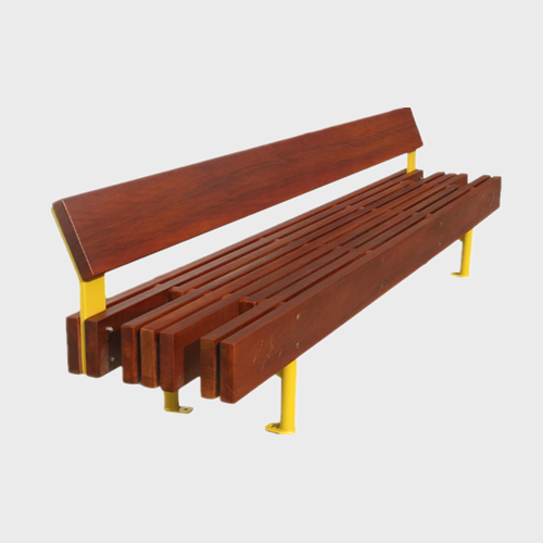 FW77 Leisure wooden benches outdoor