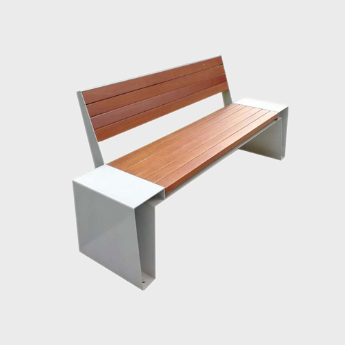 FW79 Wood plastic composite park bench
