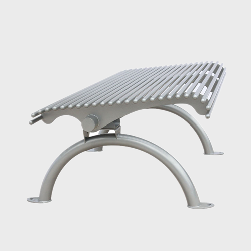 metal Patio Garden Modern Bench