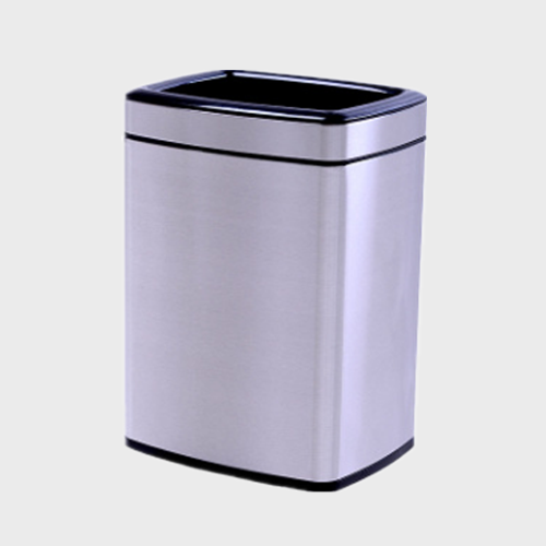 BS100 shopping mall Stainless Steel Trash Can