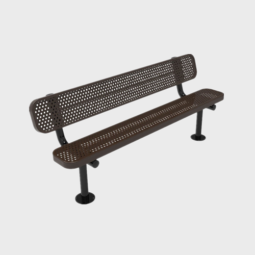 FS53 Outdoor furniture street metal Bench