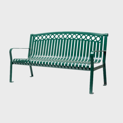 Outside Extra Long Steel Garden Bench