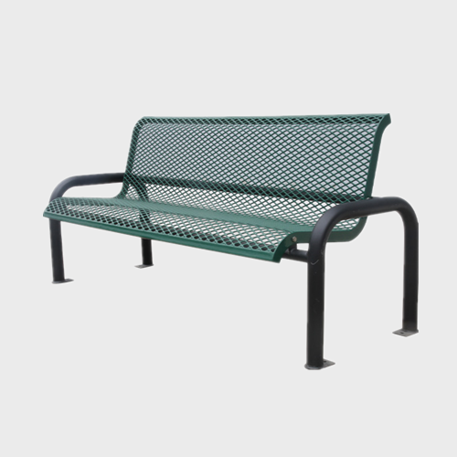 Outdoor garden furniture metal Bench