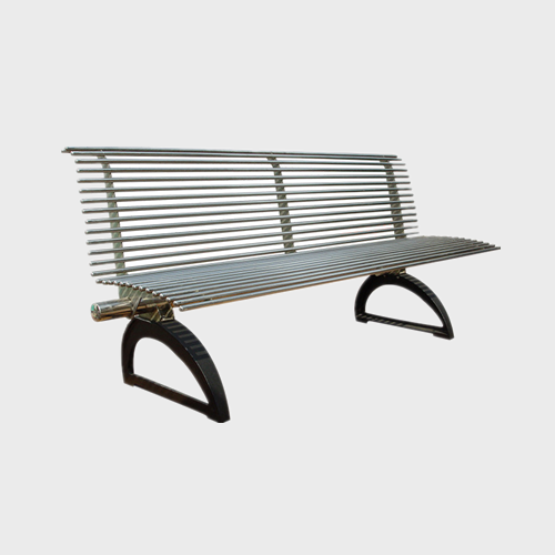 Chinese Park Stainless Steel Bench