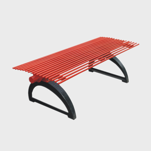 Steel Patio Garden street Bench