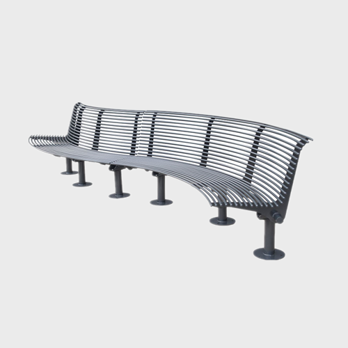 curved garden outdoor street Bench