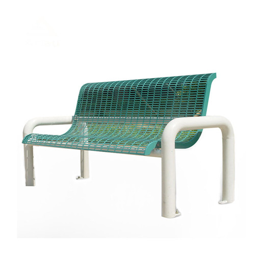 street furniture Outdoor steel mesh Bench