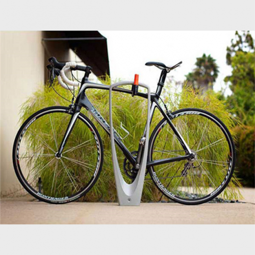 Street stainless steel bike stand rack bicycle parking rack