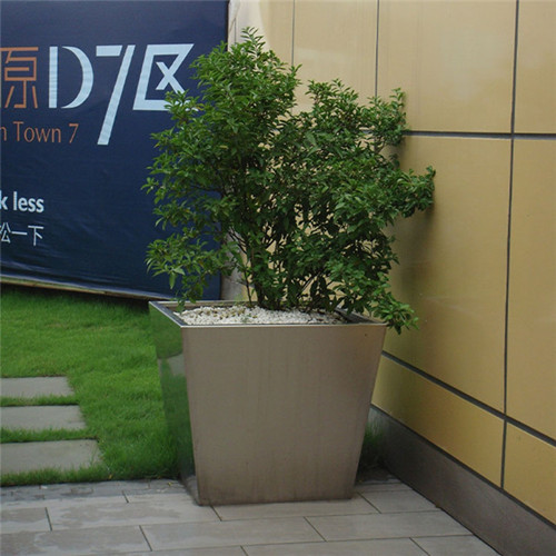 outdoor flower pot Shopping Mall flower planter