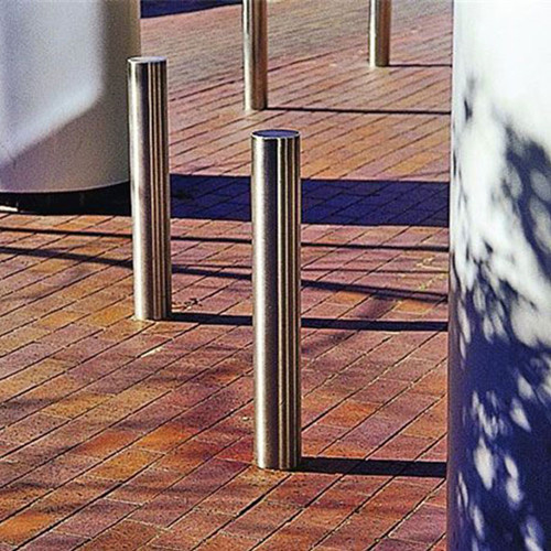 Outdoor Furniture Stainless Steel Bollards road safety barriers