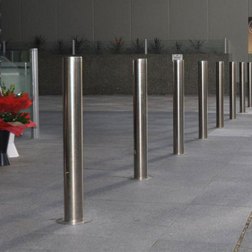 Stainless Steel road block barricade parking barrier