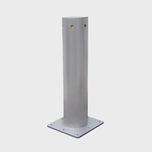 Steel road safety barriers and bollards