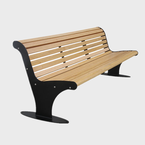 outdoor garden wooden seating bench