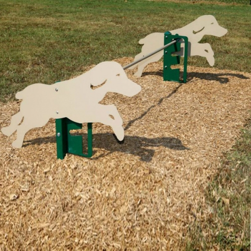 dog walk jumping pet park metal agility training equipment kits